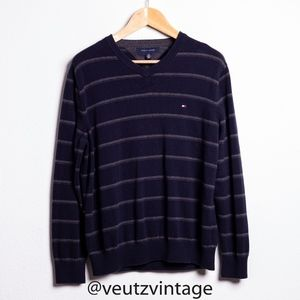 Tommy Hilfiger Cozy Long Sleeve V-Neck Pullover